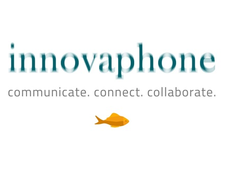 innovaphone Logo mit innovaphone Slogan communication, connetct, collaborate, WS Datenservice ist Partner von innovaphone, innovaphone AG, D-71063 Sindelfingen, www.innovaphone.com